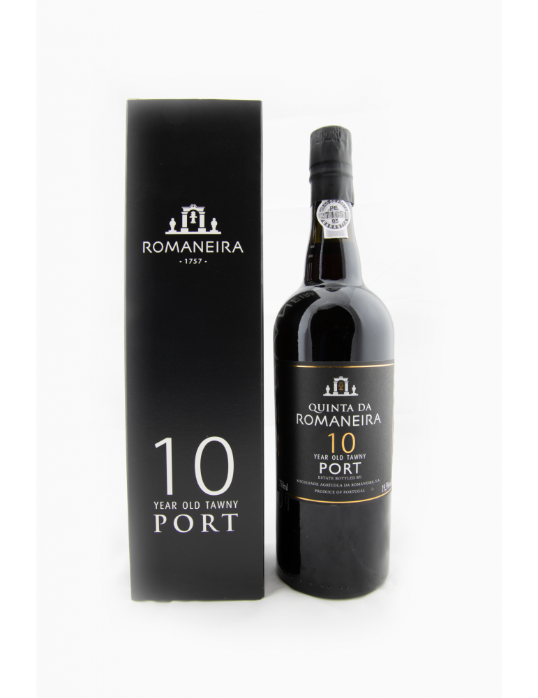 Quinta da Romaneira 10 Year Old Tawny Port gift pack